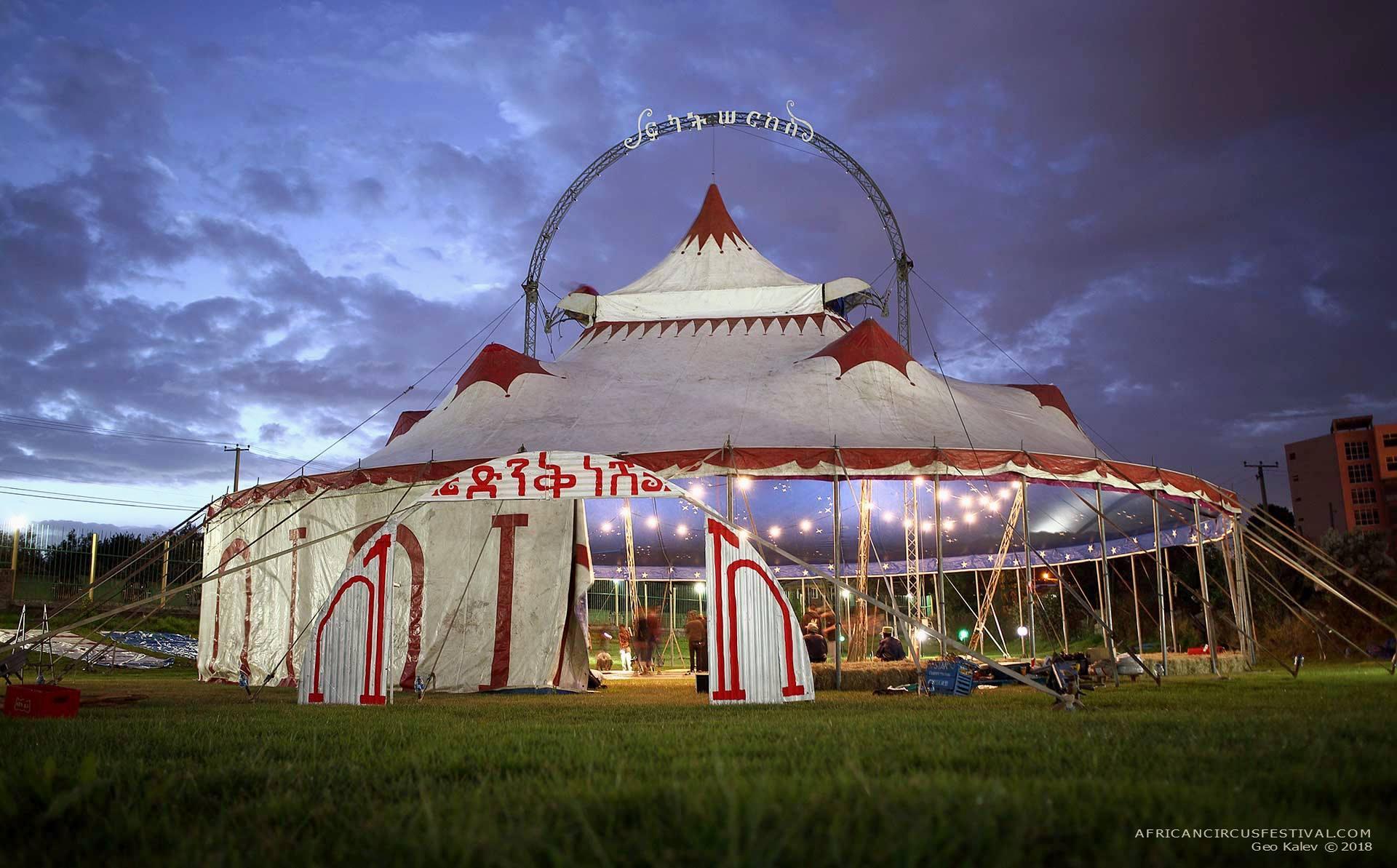 Circus Tent Fekat Circus